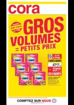 Prospectus Cora : Gros volumes = petits prix II