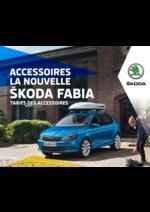 Promos et remises  : Le tarif des accessoires Skoda Fabia