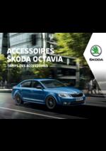 Tarifs Skoda : Les tarifs des accessoires Skoda Octavia