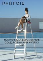 Catálogos e Coleções PARFOIS : Nowhere can be somewhere - Coleção primavera-verão 2017