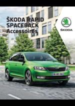 Promos et remises  : Les accessoires de la Skoda Rapid Spaceback