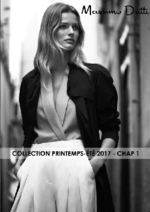 Catalogues et collections Massimo Dutti : Collection printemps-été 2017 - Chap 1