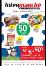 Prospectus Intermarché Super : Cumulez 50% sur votre carte