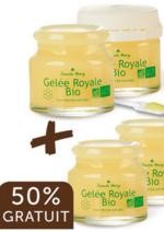 Promos et remises  : Offre Gelée Royale Bio 2 flacons de 10g + 2 offerts
