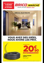 Prospectus Bricomarché : Spécial Électricité