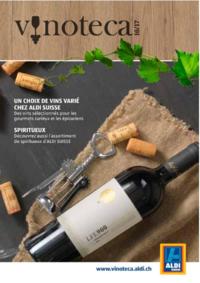Prospectus Aldi Bern - Eigerstrasse  : Un choix de vins varié chez Aldi Suisse