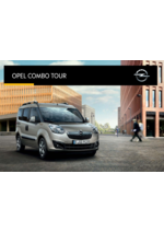 Catalogues et collections opel : Opel Combo Tour