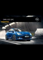Promos et remises  : Opel GTC OPC