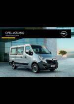 Promos et remises  : Opel Movano transport de personnes