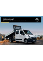 Catalogues et collections opel : Opel Movano utilitaire