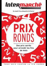 Prospectus Intermarché Super : Prix ronds : des prix carrés pour arrondir les fins de mois