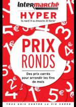 Prospectus Intermarché Hyper : Prix ronds : des prix carrés pour arrondir les fins de mois