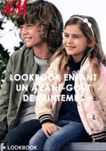 Catalogues et collections H&M : Lookbook enfant Un avant-goût de printemps