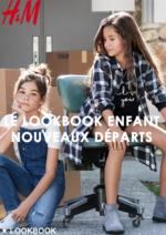 Catalogues et collections H&M : Le lookbook enfant Nouveaux départs