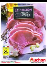 Prospectus Auchan : Le cochon en mille façons