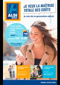 Prospectus Aldi Bern - Eigerstrasse  : Je veux la maîtrise totale des coûts