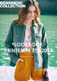 Catalogues et collections Bensimon Boulogne : Lookbook printemps été 2017