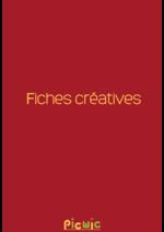 Prospectus Picwic : Fiches créatives