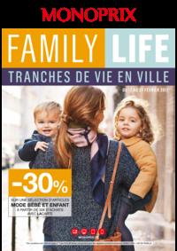 Prospectus Monoprix LA CELLE SAINT CLOUD : Family life