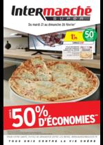 Prospectus Intermarché Super : Jusqu'à 50% d'économies