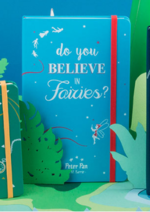 Catalogues et collections Moleskine : La collection Peter Pan en édition limitée