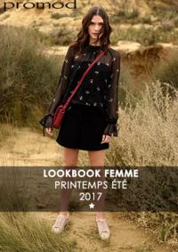 Catalogues et collections Promod Paris Centre Commercial Les 4 Temps La Defense : Lookbbook printemps été 2017