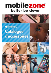 Catalogues et collections Mobilezone Bern - Waaghaus : Catalogue d'accessoires iPhone 7