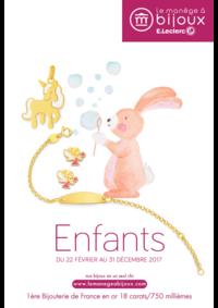 Catalogues et collections Le Manège à Bijoux E.Leclerc VITRY SUR SEINE : Le catalogue Enfants