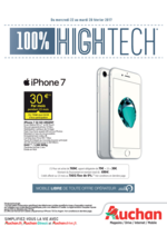 Promos et remises  : 100% High Tech