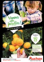 Prospectus Auchan : Vivons côté jardin !
