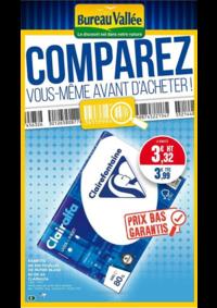 Prospectus Bureau Vallée - Courbevoie : Comparez vous même avant d'acheter !