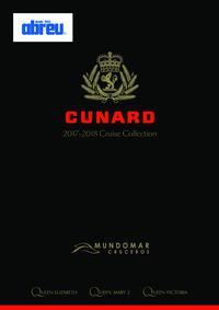 Catálogos e Coleções Viagens Abreu Porto Aliados : Cunard Cruise Collection
