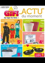 Prospectus Gifi : Actu du moment
