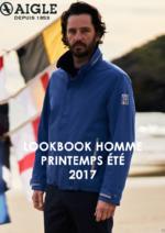 Promos et remises  : Lookbook homme printemps été 2017
