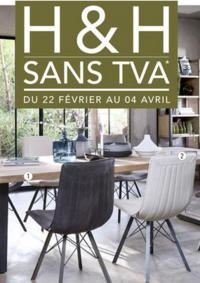 Prospectus H&H Ste Geneviève des Bois : H&H sans TVA