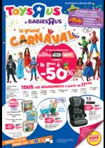 Prospectus Toys R Us : Le grand CARNAVAL