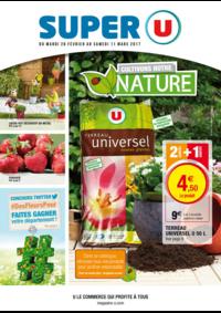 Prospectus Super U ECOUEN : Cultivons notre nature