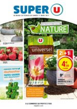 Prospectus Super U : Cultivons notre nature