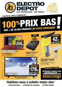 Prospectus ELECTRO DEPOT HERBLAY : 100% prix bas !