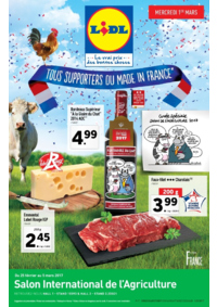 Prospectus Lidl TAVERNY : Tous supporters du Made in France