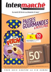 Prospectus Intermarché Super Bondy : Pauses gourmandes à petits prix