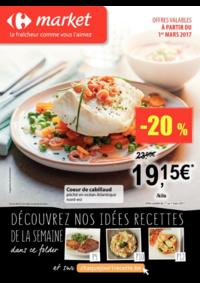 Prospectus Carrefour Market UCCLE Sq Marlow : Les promos du frais !