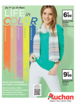 Prospectus Auchan : Life in color