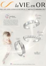 Prospectus Auchan : La vie en or : mariage