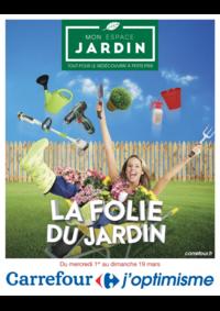 Prospectus Carrefour GENNEVILLIERS : La folie du jardin