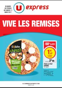 Prospectus U Express PARIS - R. MONTREUIL : Vive les remises
