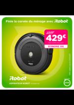 Promos et remises Pulsat : iRobot à 429€ au lieu de 459€