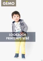 Catalogues et collections Gemo : Lookbook printemps bébé