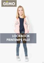 Promos et remises  : Lookbook printemps fille