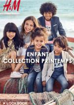 Catalogues et collections H&M : Lookbook enfant collection Printemps